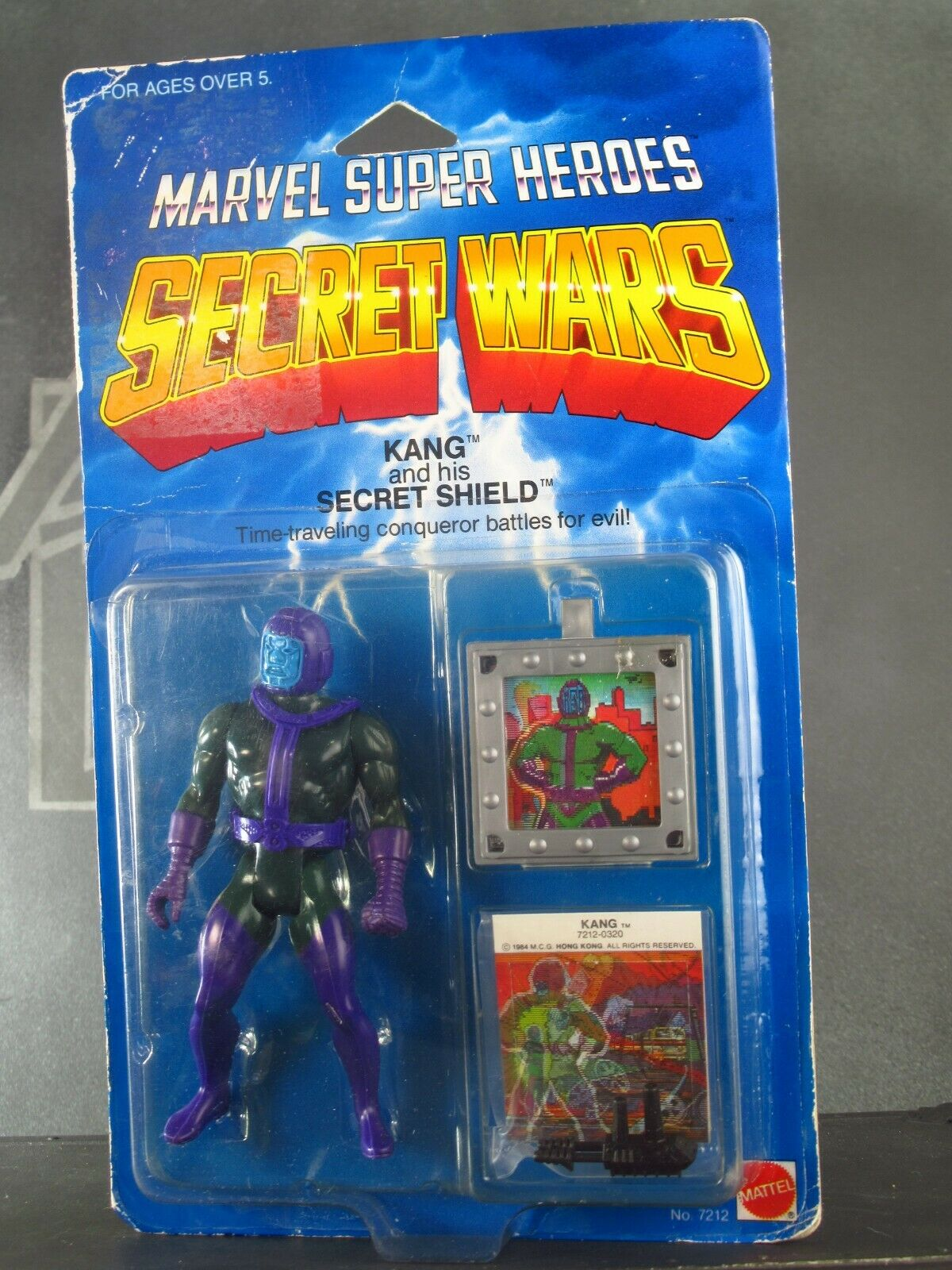 KANG  1984 Vintage Marvel Secret guerras 4  azione cifra giocattolo in scatola SUPERVILLAIN  buona reputazione