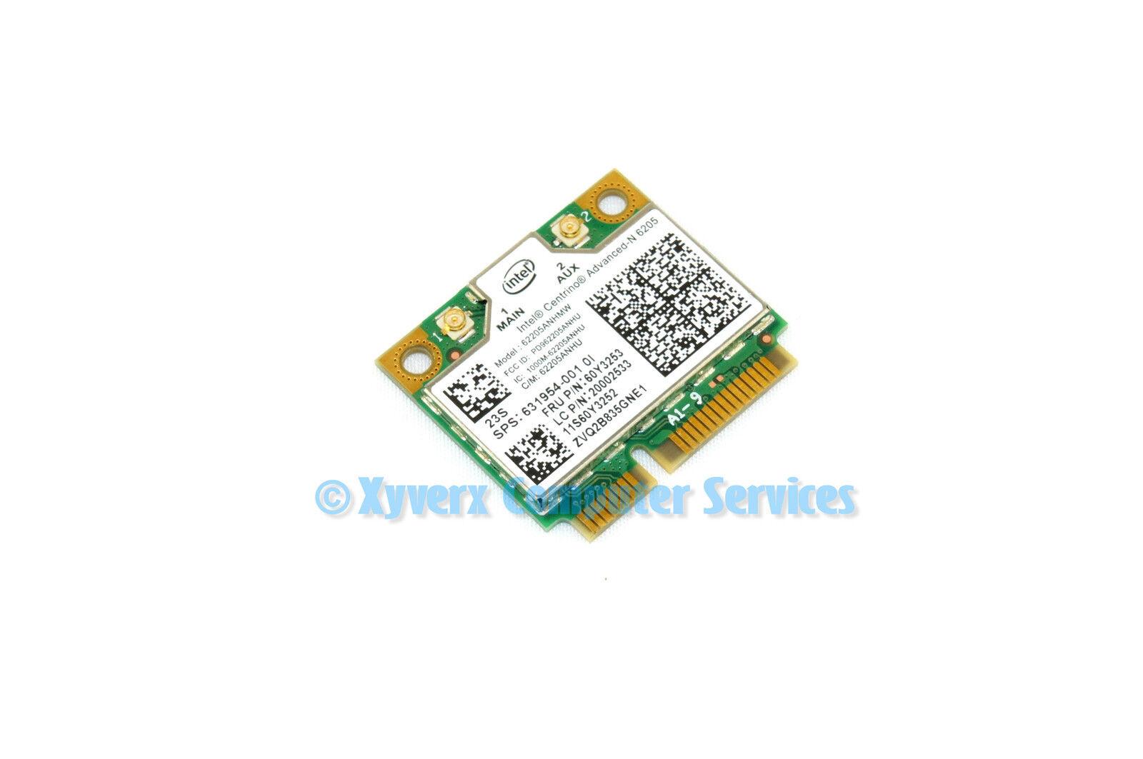 Lenovo T530 Genuine WiFi Card Mini Intel N6205 60y3253