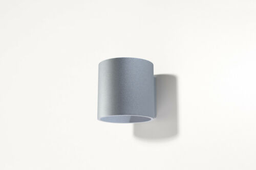 Lampe DEL Ready G9 Light made in UE Accueil appliques aluminium Roda 1 mur gris NL.0049