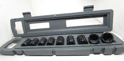Metric Craftsman 9 Piece Impact Socket Set 3//8 INCH DRIVE 915881