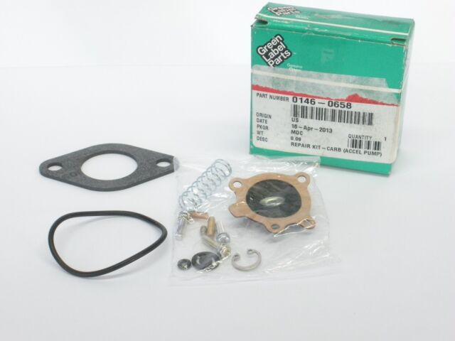 ONAN NIKKI CARBURETOR ACCELERATOR PUMP REPAIR KIT 0146-0658 146-0658