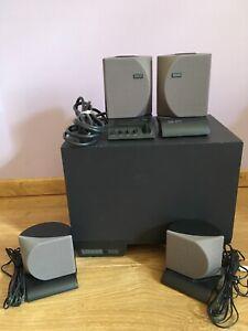 Altec Lansing ADA8 8 Piece Multimedia Computer Speaker System w