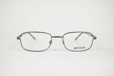 Bello Vintage Metzler M1766 L55 54 [] 19 140 Marrone Rame Ovale Occhiali Eyeglasses Nos-mostra Il Titolo Originale