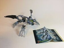Original Lego Bionicle Klakk Brickmaster exclusive # 20005 w/ Instructions