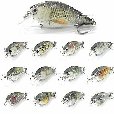 bait hook 7cm/10g 1PCS lifelike Fishing Lure Crank Crankbait Minnow Lures