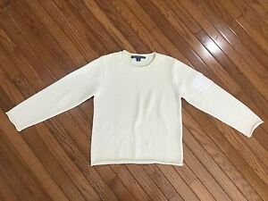 RALPH-LAUREN-Beige-Sweater-Pullover-Top-Women-039-s-Size-L