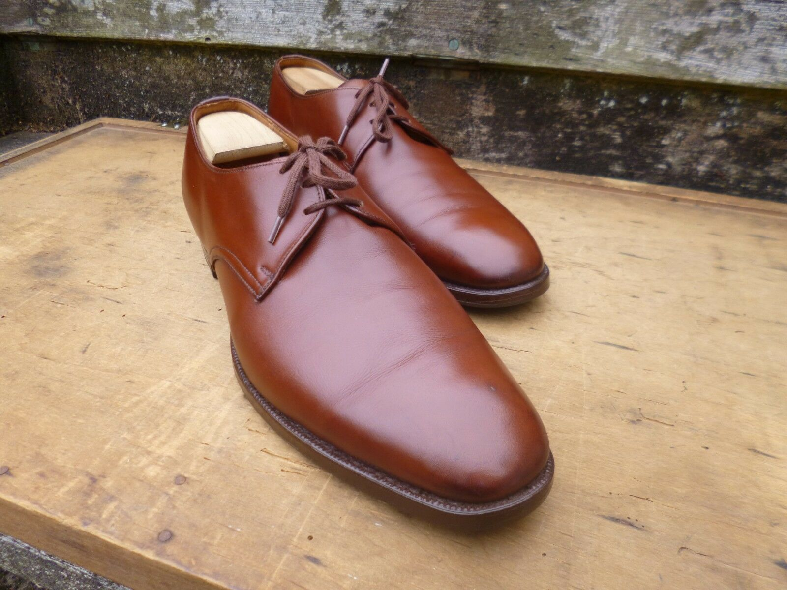 CHURCH VINTBGE DERBY – BROWN / TBN – UK 10.5 (NBRROW) –  EXCELLENT CONDITION