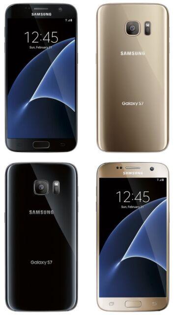 Samsung Galaxy S7 Black Onyx 32gb Cricket Unlocked For Sale Online Ebay