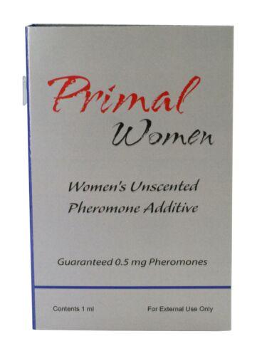 Unscented Female Pheromones To Attract Men 1 ML Trial Size Primal Women Mini