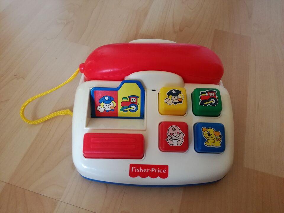 Aktivitetslegetøj, Fisher Price. Telefon, 6 til 11