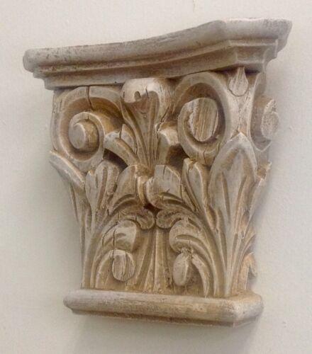 Wall Bracket Post Ionic Greek Sconce Antique Finish