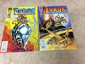 TUROK-THE-HUNTED-1-2-OF-2-LOT-OF-2-NM-COMIC-1996-VALIANT