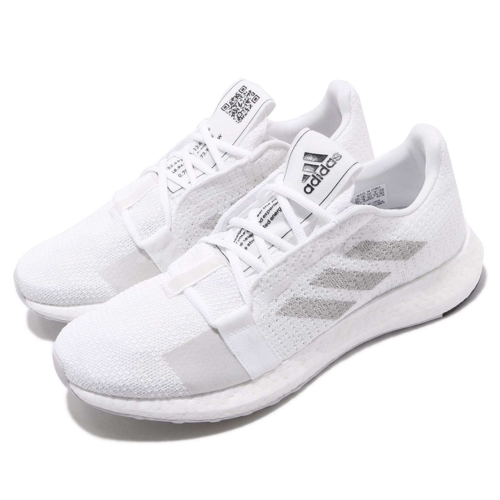 Adidas SenseBOOST blancoo gris Negro para Hombre Go M Correr Informales Zapatos Tenis G26940