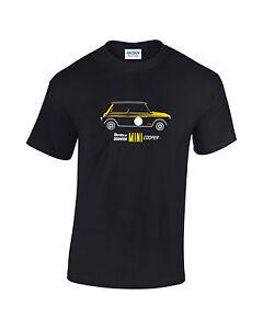 Britax-Downton-Mini-Cooper-Car-Mens-Printed-T-Shirt