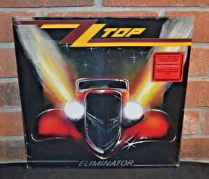 ZZ-TOP-Eliminator-Limited-RED-COLORED-VINYL-LP-New-amp-Sealed
