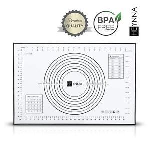 Business & Industrie Honig Heynna ® Premium Silikon Backmatte/rutschfeste Backunterlage 60x40cm Silikonm Eine GroßE Auswahl An Farben Und Designs
