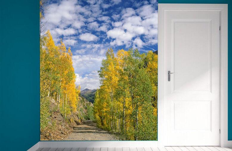 3D Autumn trees 319 WallPaper Murals Wall Print Decal Wall Deco AJ WALLPAPER