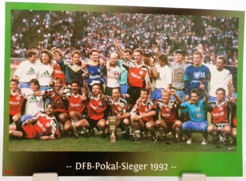 Fan Big Card Edition F119 DFB Pokal Sieger 1992 Hannover 96