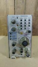 Tektronix 7b85 Delaying Time Base Module For Parts Or Repair