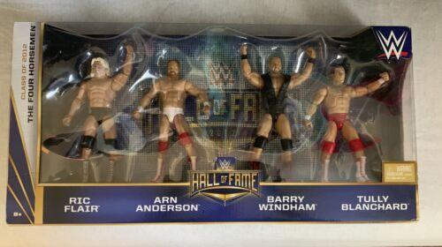 Nouveau Mattel WWE Class of 2012 Hall of Fame quatre CAVALIER FIGURINE SET SEALED