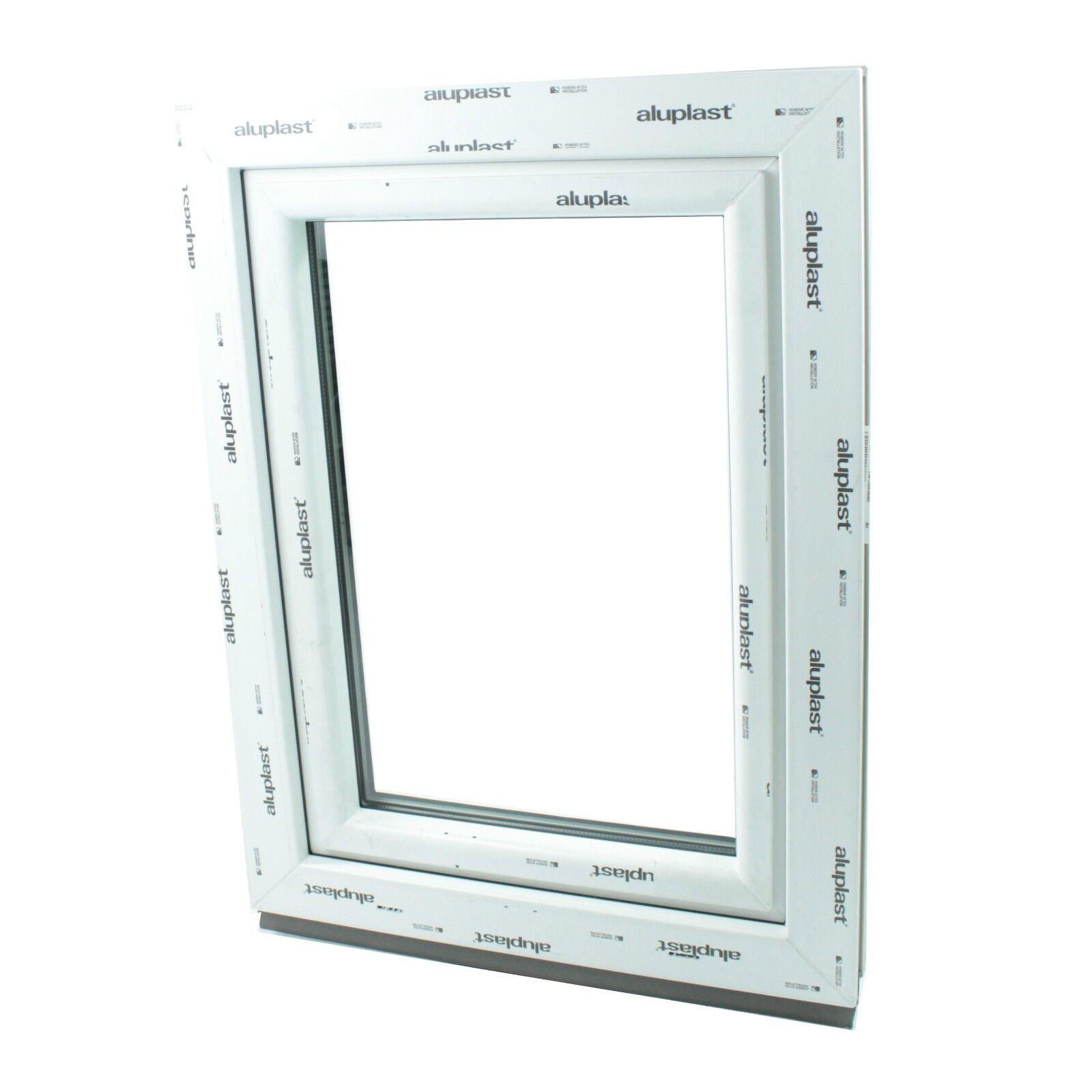 Finestre in PVC Aluplast ID 4000 colore colore colore BIANCO ad 1 Anta&Ribalta  80x124 cm sx 7d8474