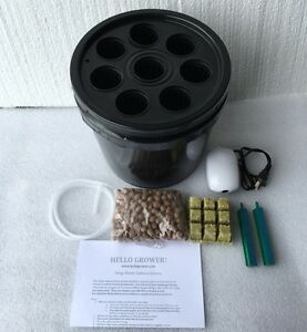 8 SITE CLONE BUCKET HYDROPONIC Cloner EZ grow turbo ...