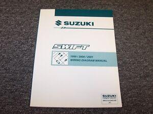 image is loading 1999-2000-2001-suzuki-swift-hatchback-electrical-wiring-