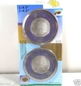 SINK SCREENS STRAINERS 1 PACK OF 2PC. SCREEN | eBay
