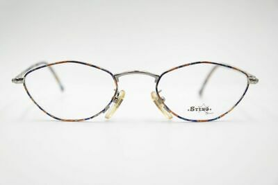 Imparziale Vintage Sting N 4081 Col. 587 50 [] 20 140 Colorato Argento Ovale Occhiali Eyeglasses Nos- Prezzo Pazzesco