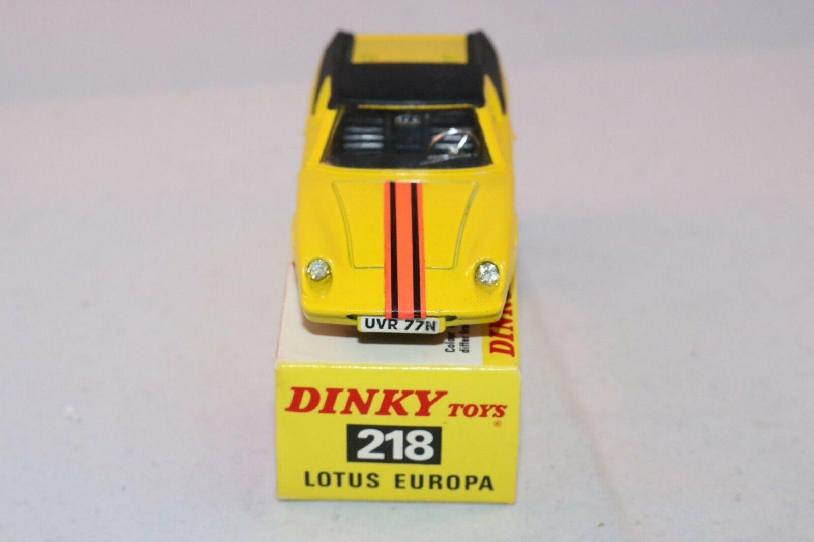Dinky Toys 218 Lotus Europa perfect mint mint mint in a perfect box all original condition a8a915