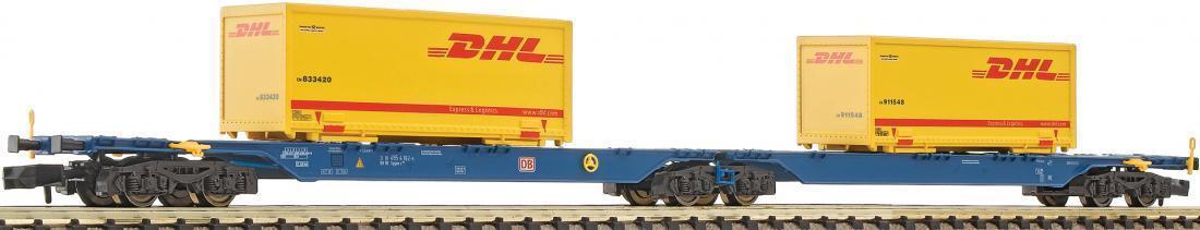 Fleischmann n 825308 contenedores carro sggmrs DBAG 2x DHL-contenedor época V neu&ov