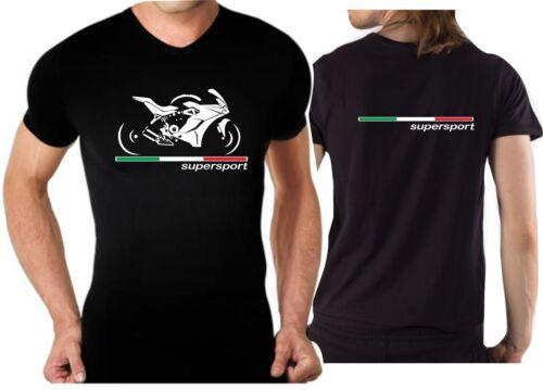 T-shirt for bike DUCATI SUPER SPORT SUPERSPORT 2017 Tshirt motorcycle moto