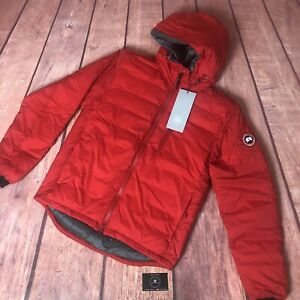 Canada-Goose-Lodge-Hoody-Red-Small-Pit-To-Pit-20-525