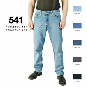 LEVIS-541-STRAIGHT-LEG-JEANS-DENIM-GRADE-A-W28-W30-W32-W34-W36-W38
