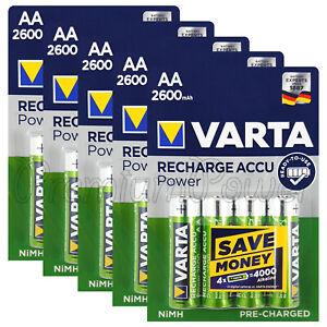20-x-Varta-AA-2600mAh-batteries-Rechargeable-Ni-MH-1-2V-HR6-Stilo-Power-Accu