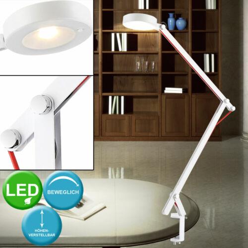 DEL d/'écriture Lampe de table Lampe Pince résidentiels ESS Chambre Projecteur Spot Pivotant