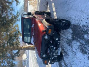Lifted 98 Jeep TJ