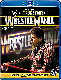 WWE - The True Story Of Wrestlemania [Blu-ray], 2 Disc Set Used Once