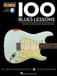 100 Blues Lessons - Guitar Goldmine Series Educational Book And Audio 000696452 Mode Attrayante