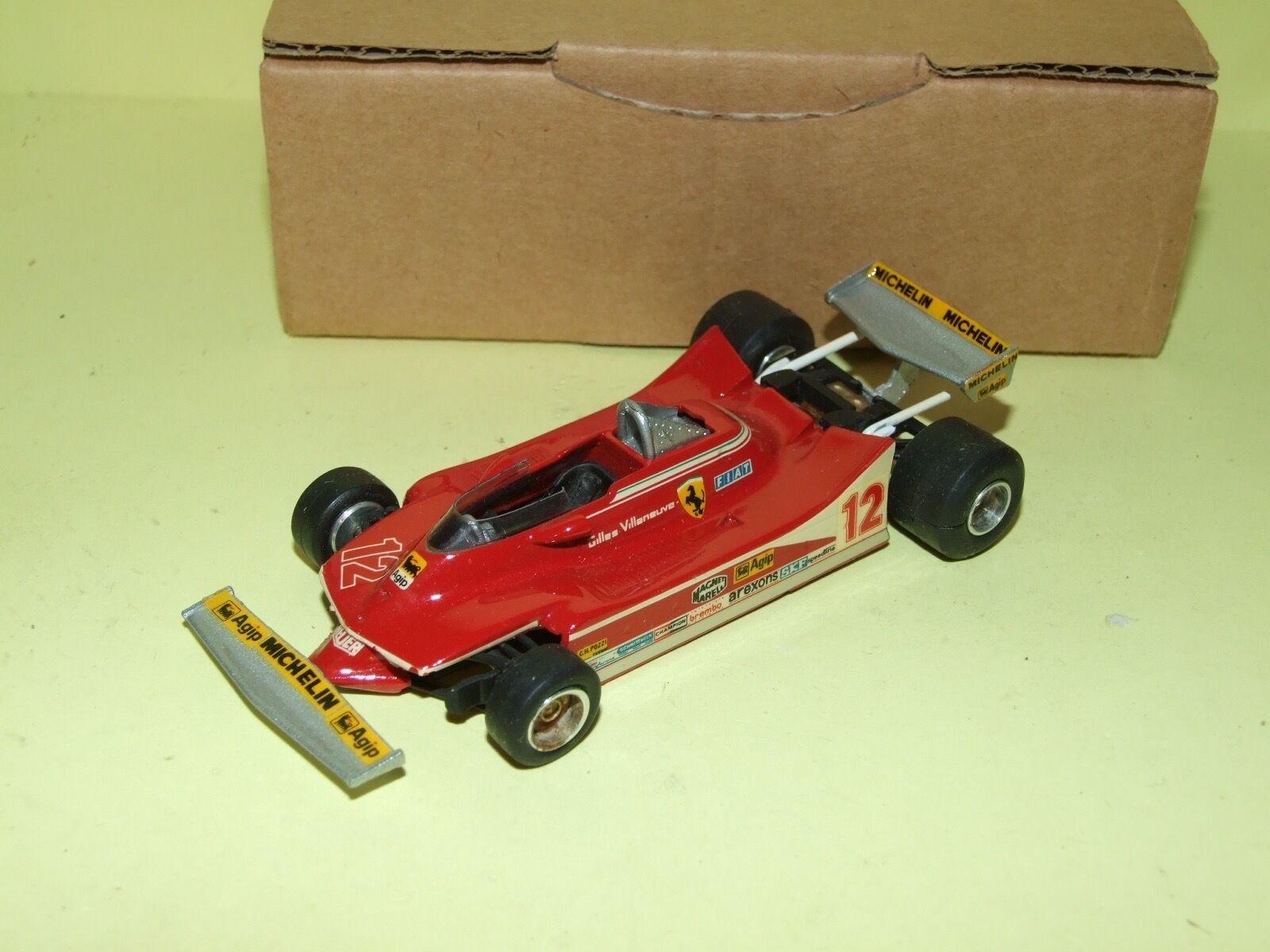 Ferrari 312 t4 monaco gp 1979 g villeneuve kit western models 1 43