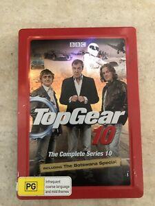 TOP-GEAR-STEEL-BOOK-SERIES-10-3-DISC-SET-DVD-R4-AUS-SELLER