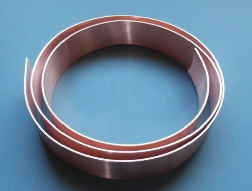 30mm Copper Strip -Tape 25mm 1.2mm Thick 35mm Bar 20mm 40mm 45mm