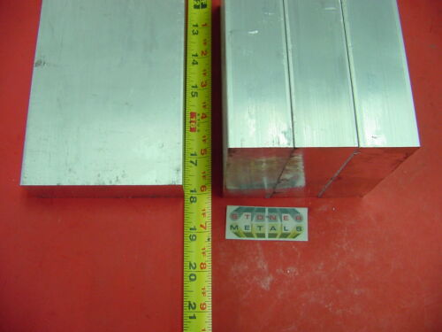 "4 Pieces 1-1//4/"" X 4/"" ALUMINUM 6061 FLAT BAR 18/"" long 1.25 Solid Plate Mill Stock"