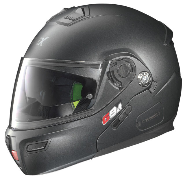 CASQUE MODULER GREX G9.1 EVOLVE KINETIC N-COM 25 - Black Graphite TAILLE XS