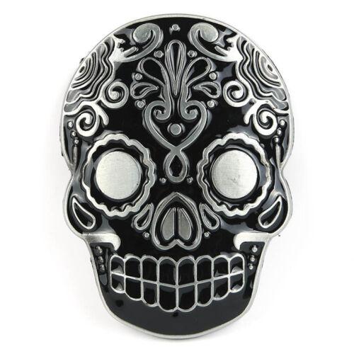 Skull Head Death Pattern Belt Buckle Hip-hop Western Cowboy Men/'s Belt Buckle