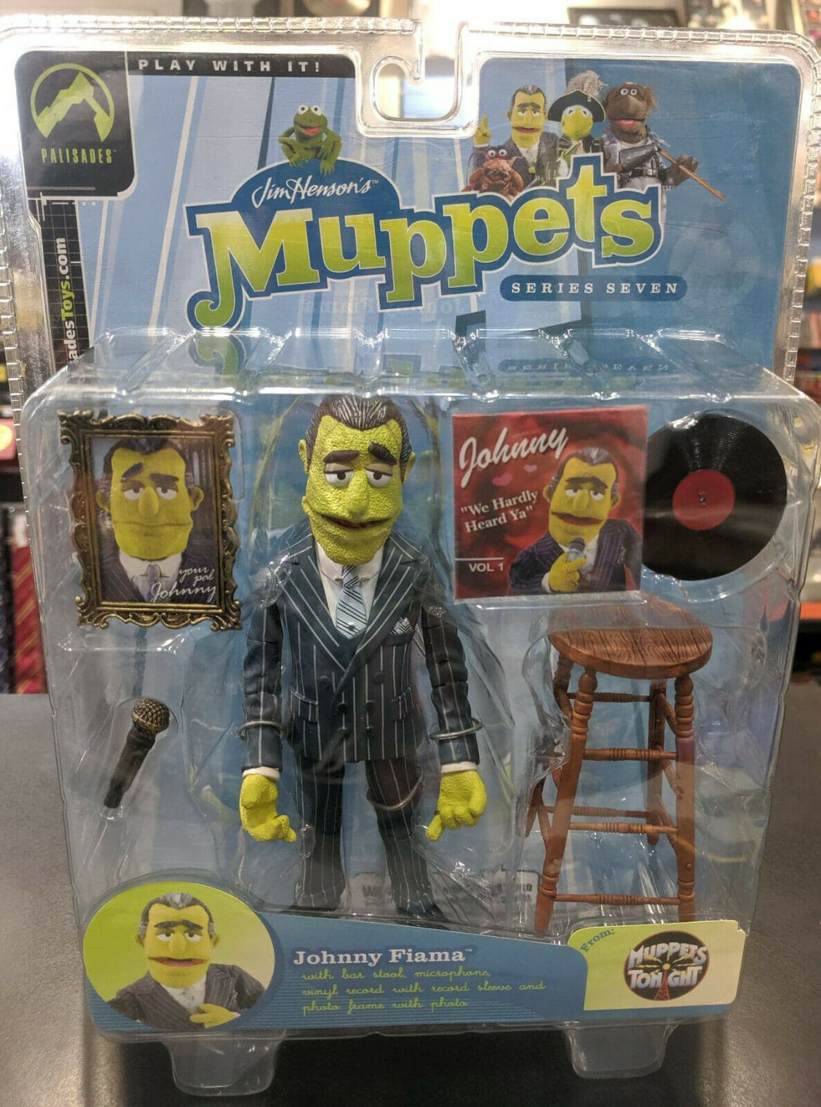 MUPPETS Palisades JOHNY FIAMA - SIGNATure Action Figur Serie 7 MUPPETS TONGEN