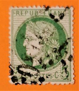 MARCOPHILE ! type Cérés  N° 53  d, (TB-828-1) Oblit LGC Exceptionnel + 215 €