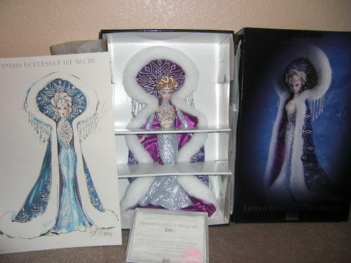 Fantasy Diosa del Ártico Barbie, por Bob Mackie  Nuevo En Caja