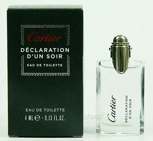 ღ Déclaration D'Un Soir- Cartier - Miniatur EDT 4ml