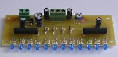 Stereo LED VU meter 12 LEDs - HK1521